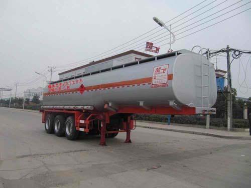 楚飞三轴易燃液体(50立方)罐式运输半挂车