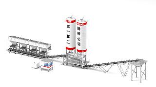 三一重工SWM600稳定土厂拌设备