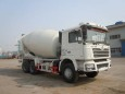 楚飞陕汽德龙(4-5立方)混凝土搅拌运输车高清图 - 外观