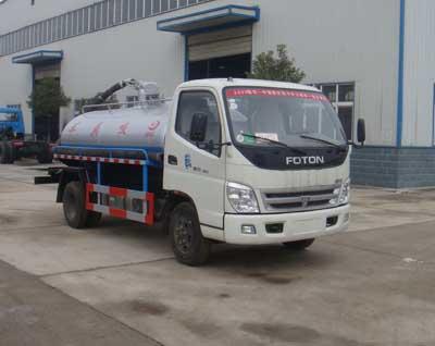 楚飞福田奥铃(3吨-5吨)吸粪车、抽粪车、沼气废气收集车高清图 - 外观