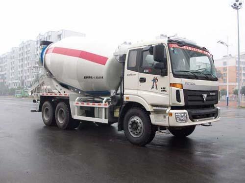 楚飞福田欧曼后双桥(5立方)-HQG5252GJBB3混凝土搅拌运输车