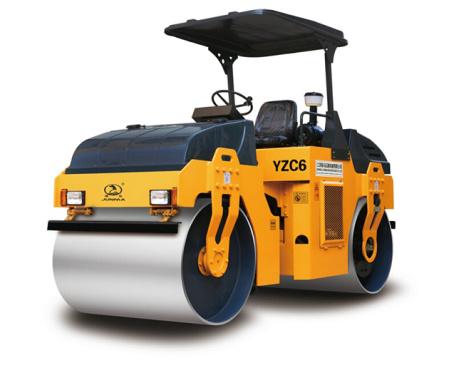 骏马YZDC6振荡压路机
