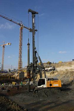 利勃海尔LB 24旋挖钻机