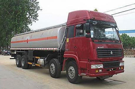 湖北合力斯太尔前四后八化工液体运输车-ZZ1316M4669V