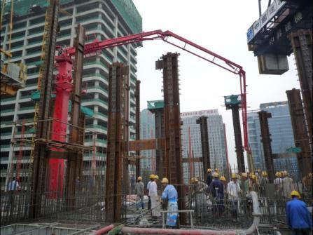 建研HGY24电梯井爬升式布料机