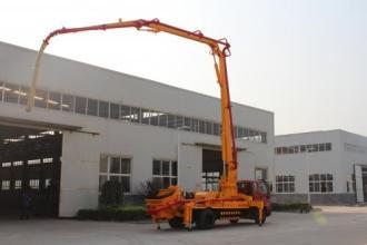 建研21米小泵车高清图 - 外观