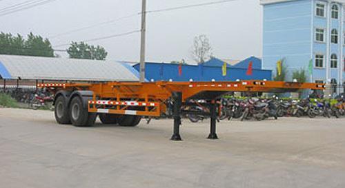 湖北合力集装箱运输半挂车30500kg