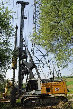利勃海尔LB 20旋挖钻机高清图 - 外观