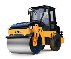 骏马YZ6C单钢轮振动压路机