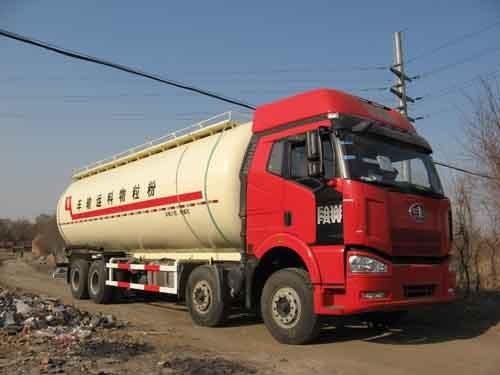 楚胜SLS5318GFLC粉粒物料运输车