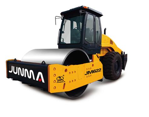 骏马JM626A单钢轮振动压路机