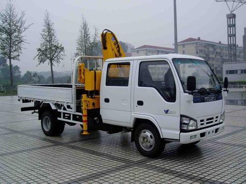 楚胜XZJ5060JSQ随车起重运输车