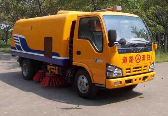 楚胜JDF5060TSLN扫路车
