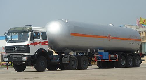湖北合力液化氣體運輸半掛車24570kg