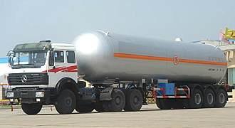 湖北合力液化气体运输半挂车24570kg