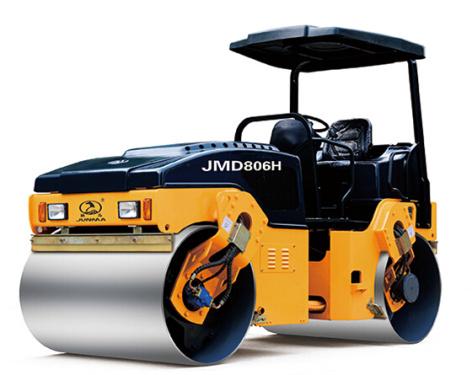 骏马JM806H/JMD806H全液压双钢轮振动/振动振荡压路机