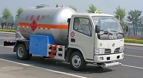 湖北合力東風金霸液化氣體運輸車