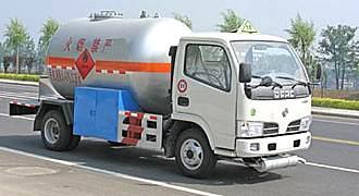 湖北合力东风金霸液化气体运输车
