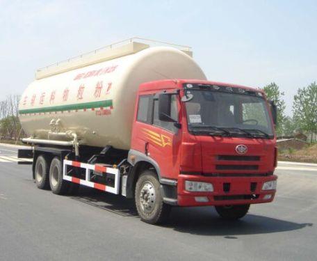 楚胜DTA5250GFLC低密度粉粒物料运输车