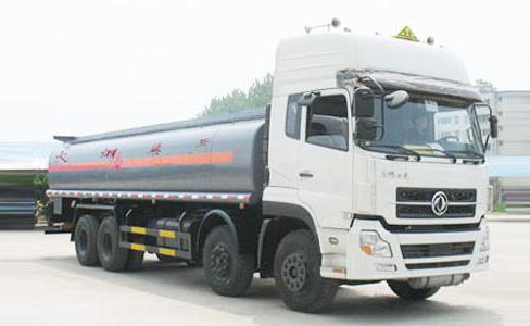 湖北合力东风天龙前四后八化工液体运输车-DFL1311A3