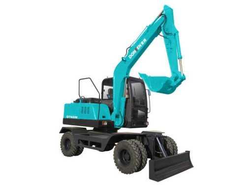 南特DT65W轮式挖掘机