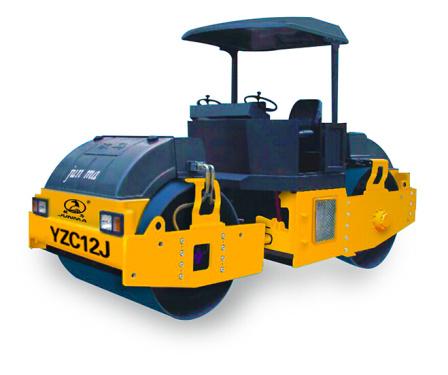 骏马YZC12J双钢轮振动压路机