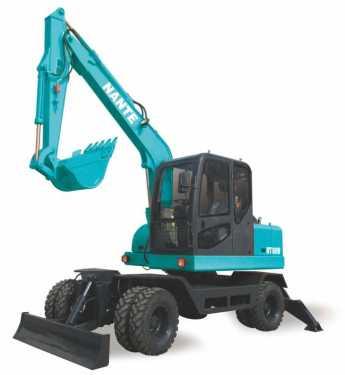 南特DT80W轮式挖掘机