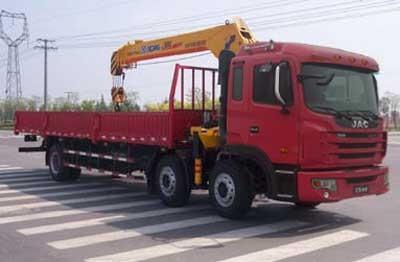 厦工楚胜HFC5255JSQK2R1LT随车起重运输车