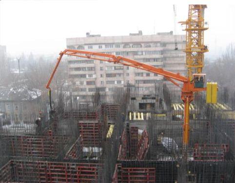 建研HGY17电梯井爬升式布料机