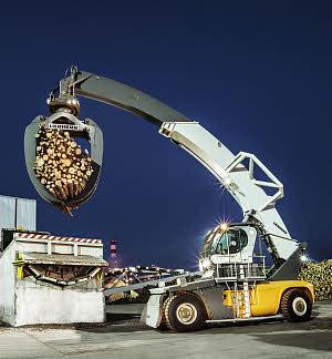 利勃海尔LRS 645 LH (Log Handler)集装箱正面吊高清图 - 外观