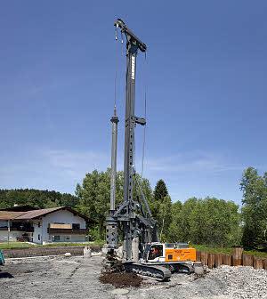 利勃海尔LB 36旋挖钻机高清图 - 外观