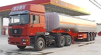 湖北合力运油半挂车28000kg