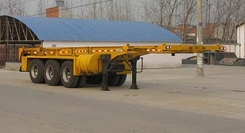 湖北合力集装箱运输半挂车35000kg