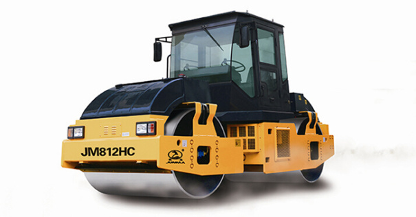 骏马JM812HC全液压双钢轮振动压路机