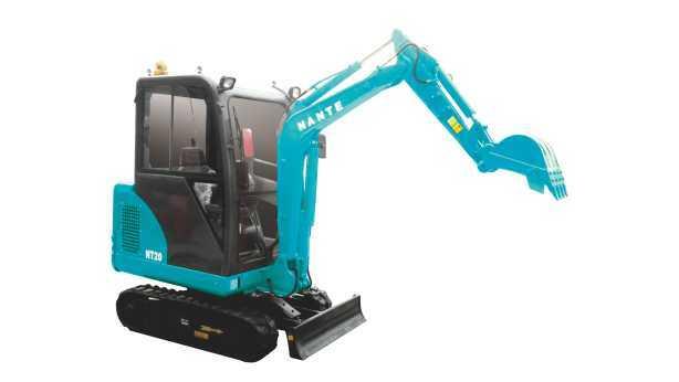 南特DT20挖掘机