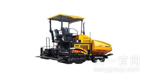 三一重工SAP98T轮胎式摊铺机