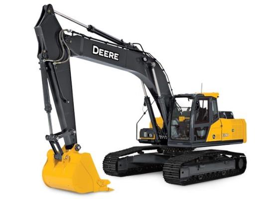 約翰迪爾E240 LC挖掘機