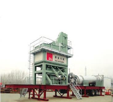德基機械DGM系列-拖掛式瀝青混合料攪拌設備