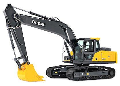 約翰迪爾E210 LC挖掘機