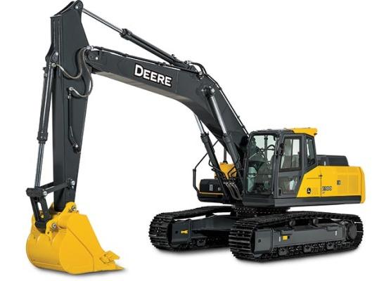 約翰迪爾E300 LC挖掘機