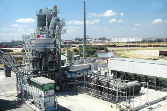 德基机械DG5000沥青搅拌设备
