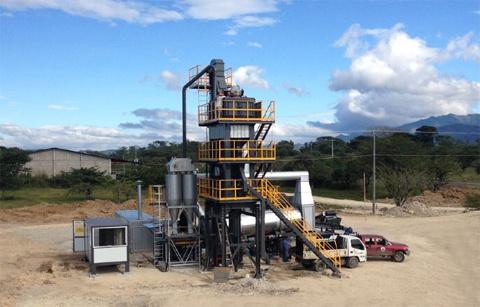 铁拓机械LB-800沥青搅拌设备