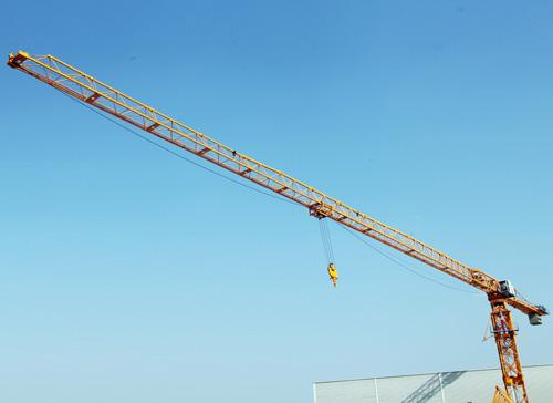 中国现代QTZ500P(XDP8030)平头塔式起重机高清图 - 外观