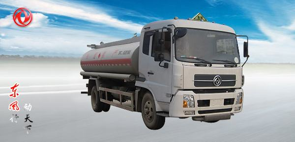 东风东风天锦化工液体运输车高清图 - 外观
