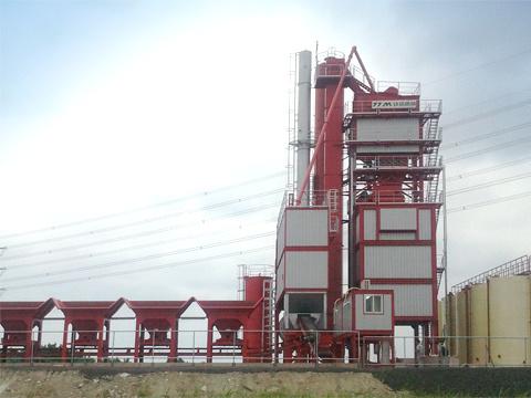 铁拓机械GLB-2000出口型沥青混合料搅拌设备