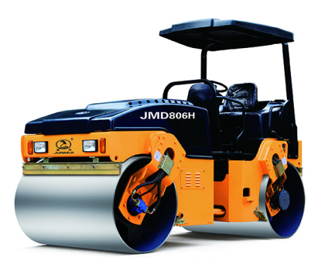 骏马JM806H全液压双钢轮振动压路机