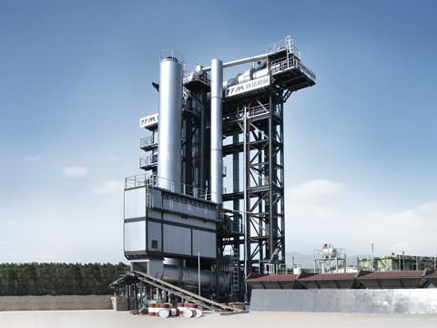铁拓机械TS1510型沥青厂拌热再生设备