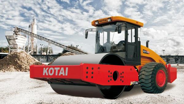 科泰重工KS125D单钢轮压路机(双驱)