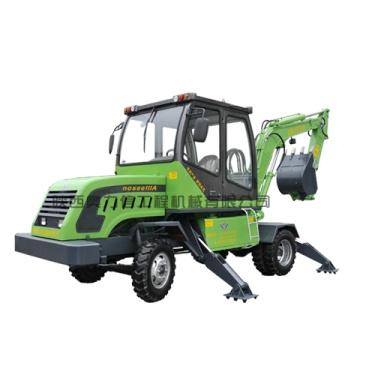 欣安远AWL7038-3轮式挖掘机