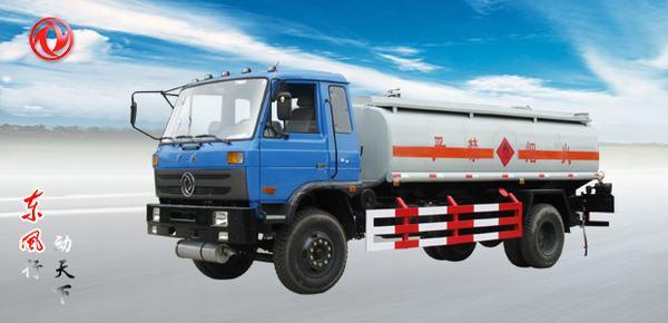 东风东风153化工液体运输车高清图 - 外观